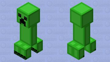Creeper with my shading - 𝕝𝕖𝕝𝕒𝕚𝕤𝕘𝕣𝕖𝕒𝕥 Minecraft Mob Skin