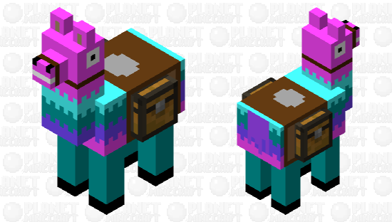 Loot Llama Fortnite Minecraft Skin