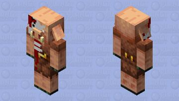 Zombified Piglin (I Think That's How You Say That) Minecraft Mob Skin