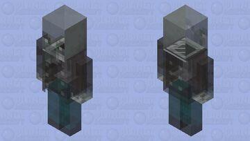 Ghost vindicater Minecraft Mob Skin