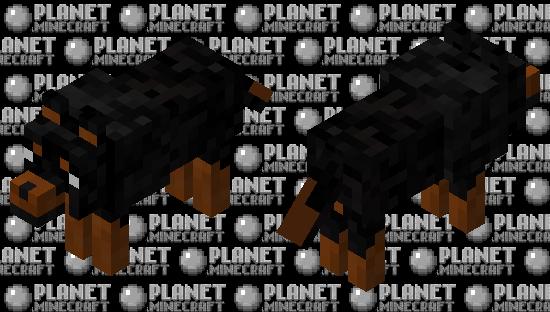 Wolf Dog Minecraft Skin