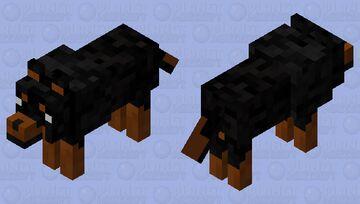 Wolf Dog Minecraft Mob Skin