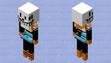 Sans brother Minecraft Mob Skin