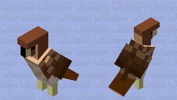 Red-Tailed Hawk Minecraft Mob Skin