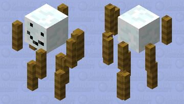 Snow? I think you meant cold fire! Minecraft Mob Skin