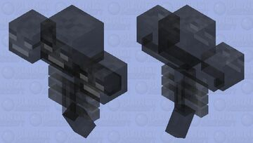 Ghost wither Minecraft Mob Skin