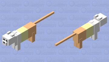 Pastel Candy Corn Minecraft Mob Skin