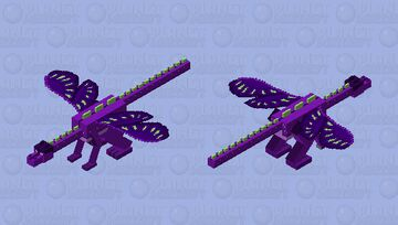Io wings of fire Minecraft Mob Skin