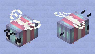 - ☆ - trans pride bee - ce - ☆ - Minecraft Mob Skin