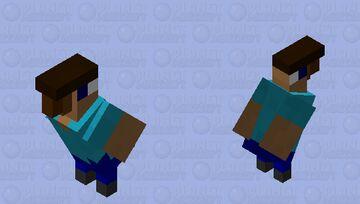 parrot steve Minecraft Mob Skin