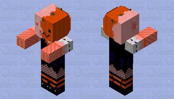 Halloweeny Pumpkin Pigman Minecraft Mob Skin
