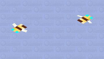 Small Polen Bee Minecraft Mob Skin