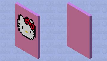 ♥ Hello Kitty ♥ Minecraft Mob Skin