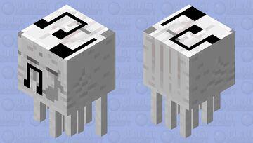 musical ghast Minecraft Mob Skin