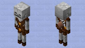 Simple Archer skeleton Minecraft Mob Skin