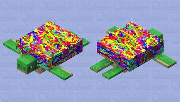 Confetti Turtle! Minecraft Mob Skin
