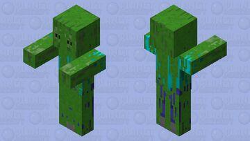 Mossad Swamp Zombie Minecraft Mob Skin