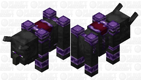 Ender Ravager Minecraft Skin