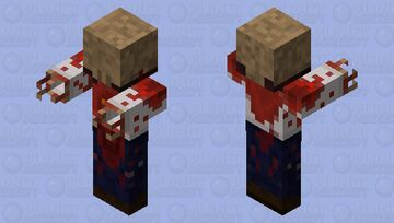 Half life zombie Minecraft Mob Skin
