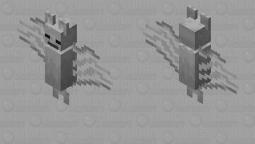 Skeleton Bat Minecraft Mob Skin