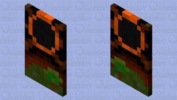 Solar eclipse Cape Minecraft Mob Skin
