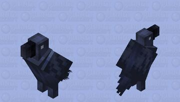 Crow Minecraft Mob Skin