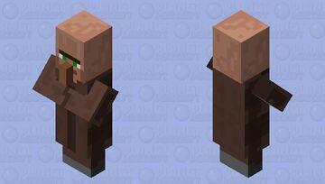 Old Farmer Villager Minecraft Mob Skin