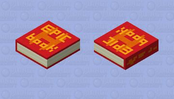 Book Minecraft Mob Skin