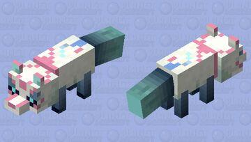 Spirit Blossom Kitsune | League of Legends Minecraft Mob Skin