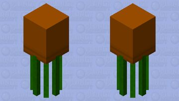 Potted Plant Minecraft Mob Skin