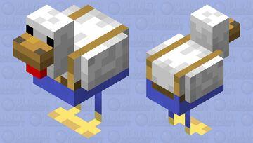 Chicken Wearing Some Fancy Trousers Minecraft Mob Skin