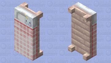 ♡𝑃𝑎𝑠𝑡𝑒𝑙 𝑏𝑒𝑑♡ Minecraft Mob Skin