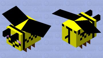 anonymous bee Minecraft Mob Skin