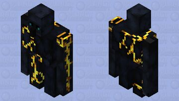 gilded blackstone golem (alt version) Minecraft Mob Skin