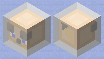 Foxxo Cube Stuck In Glowing Forcefield Minecraft Mob Skin