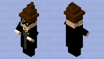 Harry Potter with the sorting hat on Minecraft Mob Skin