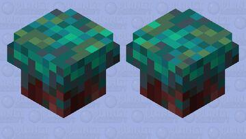 Hopping Nylium Mushroom Minecraft Mob Skin