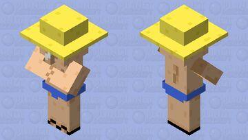 beach villager remastered Minecraft Mob Skin