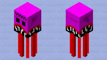 THIS SKIN IS FOR EVERYONE WHO HATES SKINS AND WHO DISLIKES TOUNGES IT WILL BE THE THING THEY SEE BEFORE THEY SUBSCRIBE AND DIAMOND THIS IS A WARNING IT IS A VERY SCARY BEAST OF A OcTOPUS KRAKEN HUGE Minecraft Mob Skin