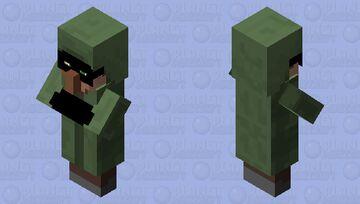 bandit villager v2 Minecraft Mob Skin