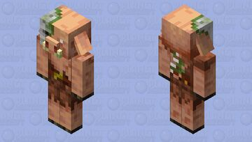 Better Zombie Piglin Minecraft Mob Skin