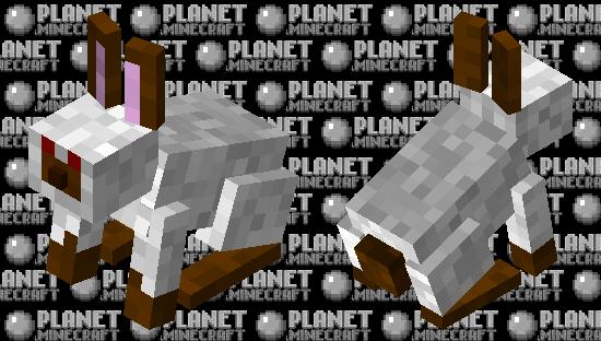 Muddy Foot Rabbit (Minecraft Earth) Minecraft Skin