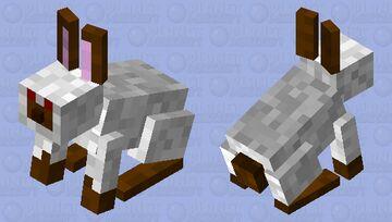 Muddy Foot Rabbit (Minecraft Earth) Minecraft Mob Skin