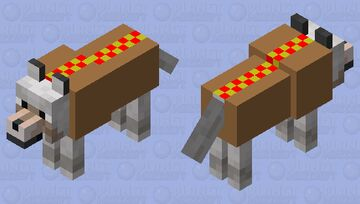 Hot Dog Minecraft Mob Skin