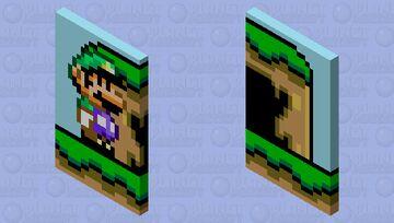 Luigi Cape Minecraft Mob Skin