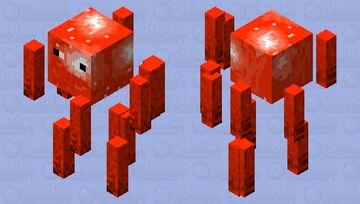 crimson forest blaze Minecraft Mob Skin