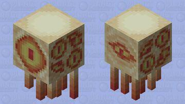 Flesh-eyed Ghast Minecraft Mob Skin