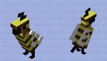Bee Birb Minecraft Mob Skin