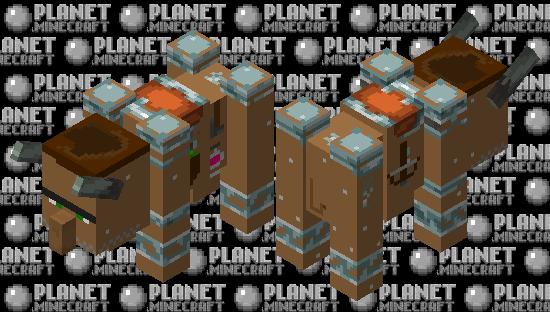 Villager Beast (Vavager) Minecraft Skin