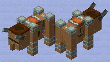 Villager Beast (Vavager) Minecraft Mob Skin